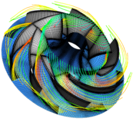 Example of computational fluid dynamics image courtesy of Pointwise